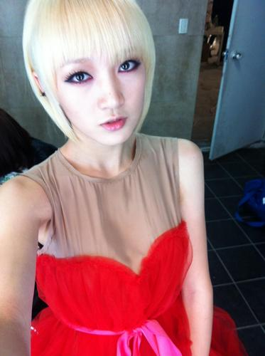Miss A S Jia S New Hair Color Oneasiaa